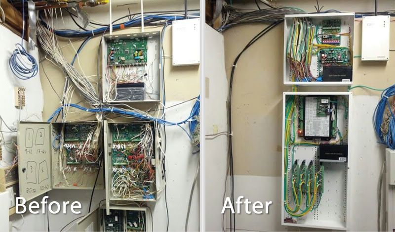 Signal Secure - before and after