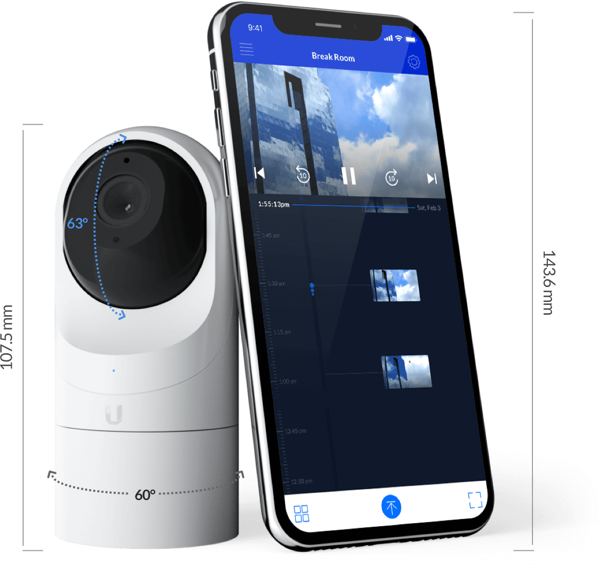 Signal Secure Indoor Camera package